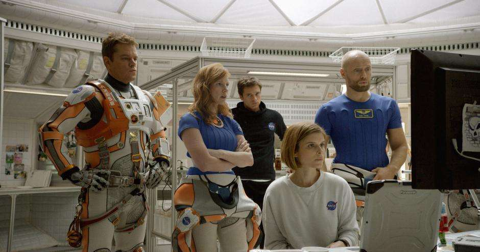 The Martian cast