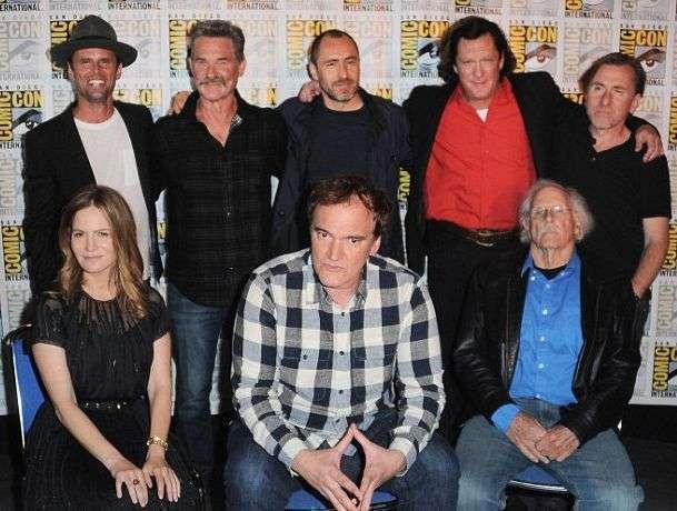 O diretor levou seu elenco à Comic Con 2015 e exibiu um trecho do filme