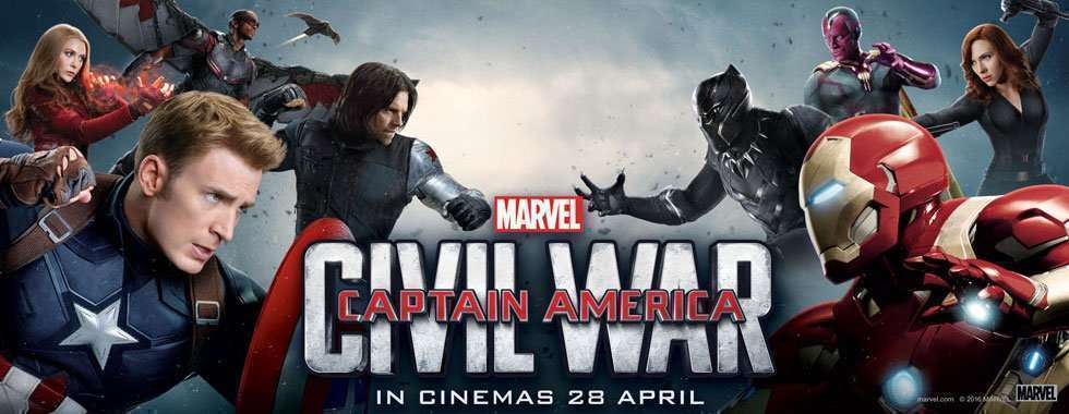 Captain America Civil War teams
