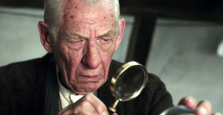 Mr. Holmes scene