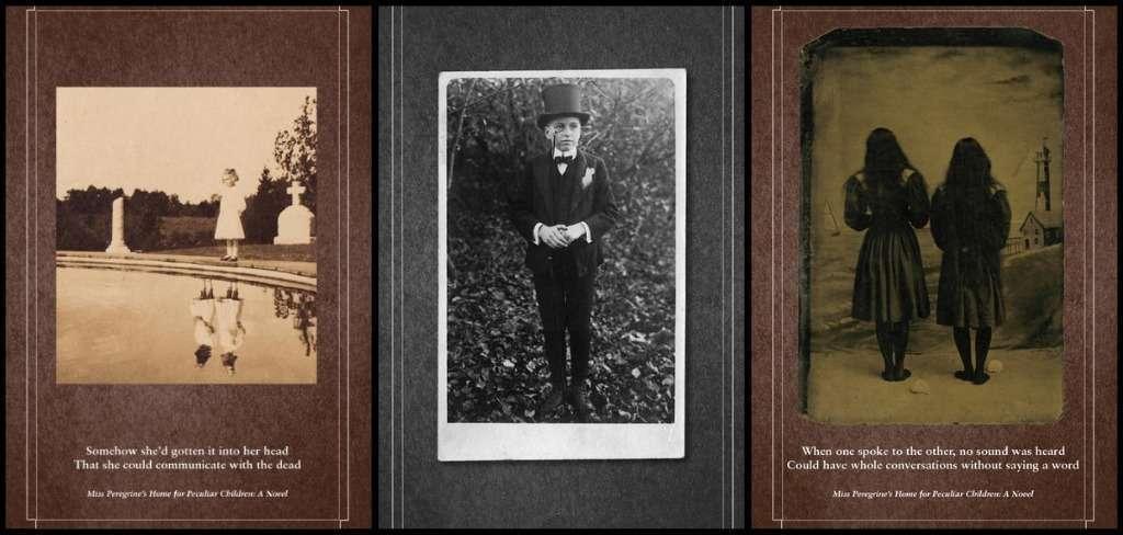 Algumas das fotos usadas no livro