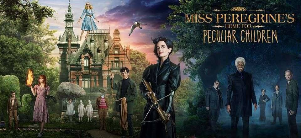 Ms. Peregrine banner