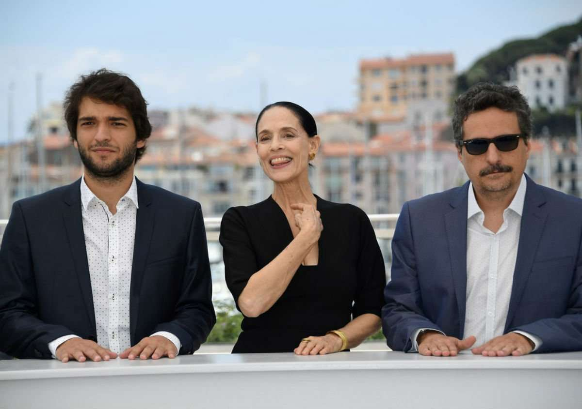 Carrão, Braga e o diretor do melhor filme nacional do ano