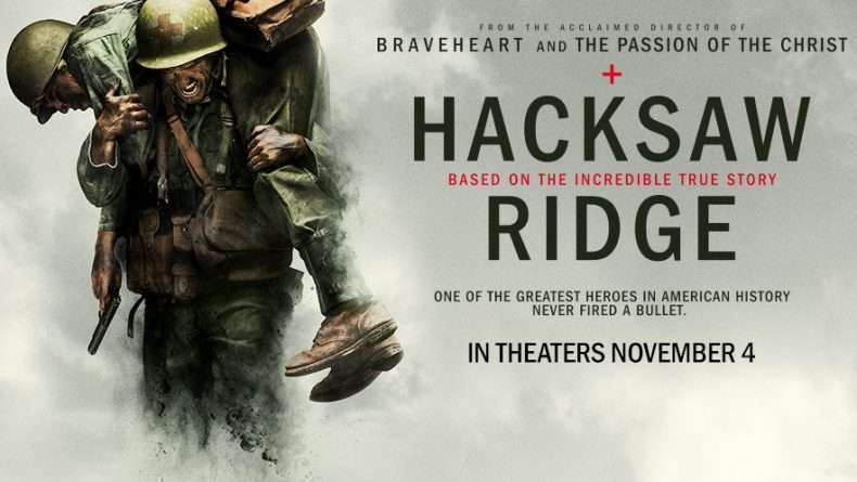 Hacksaw Ridge banner