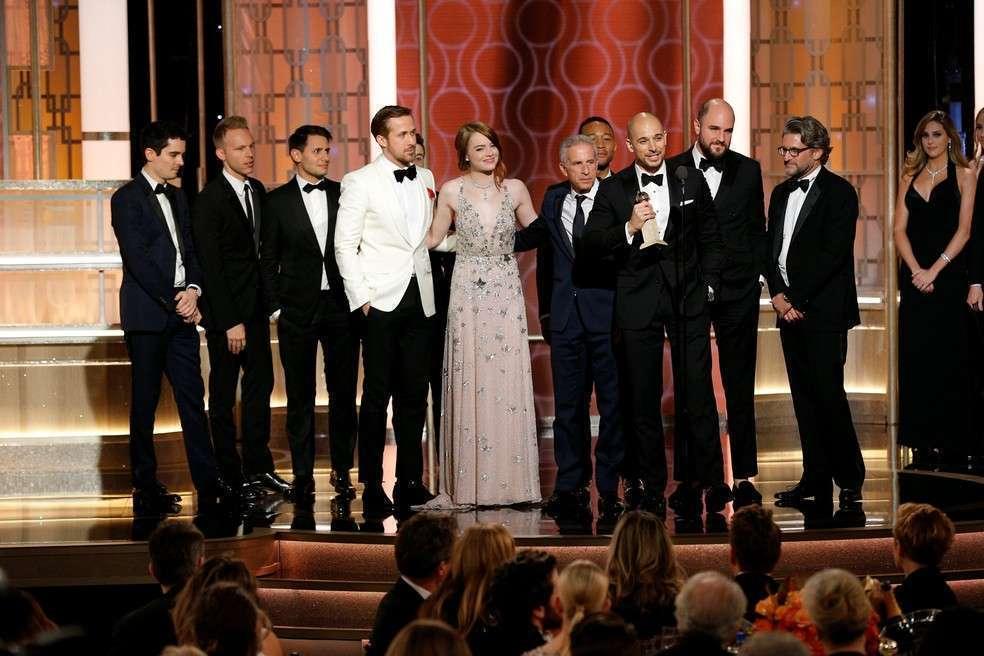 La La Land foi o recordista da noite, com sete prêmios