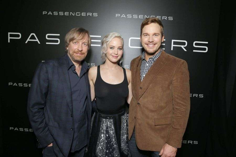 O diretor levou seus astros à CinemaCon, em Las Vegas