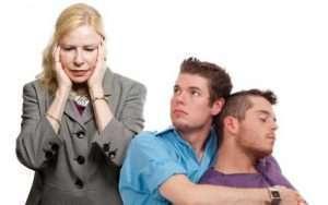 mãe-homossexualidade do filho