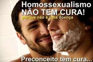 homossexualidade não é doença