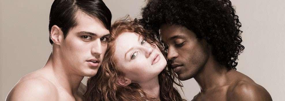 Black bisexual mmf threesome